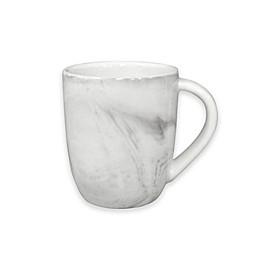 Artisanal Kitchen Supply® Coupe Marbleized Espresso Mug in Grey