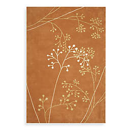 Safavieh Soho Botanical Wool Area Rug in Rust