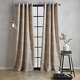 Bedeck Juma Print Grommet Window Curtain Panel