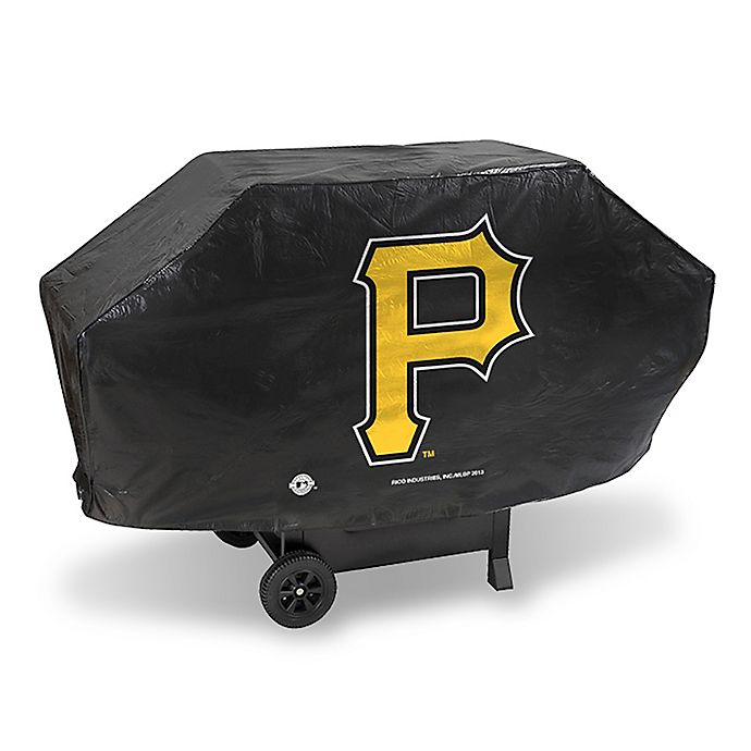 Alternate image 1 for MLB Pittsburgh Pirates Deluxe Barbecue Grill Cover