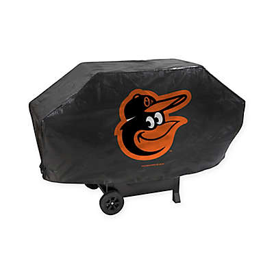 MLB Baltimore Orioles Deluxe Barbecue Grill Cover
