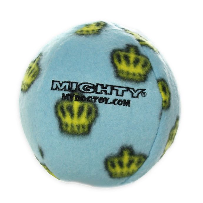Alternate image 1 for Mighty® Pet Toys Medium Ball Toy in Blue
