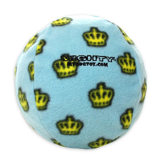 Alternate image 1 for Mighty® Pet Toys Large Ball Toy in Blue