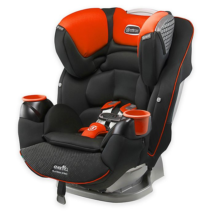 Alternate image 1 for Evenflo® Platinum SafeMax All-in-One Convertible Car Seat