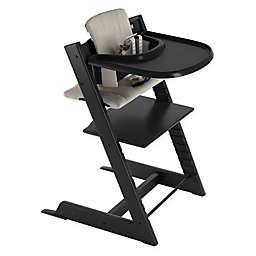 Stokke® Tripp Trapp® Grey High Chair in Black
