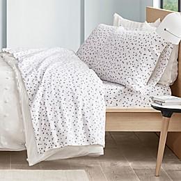 Intelligent Design Stars Cozy Flannel Sheet Set
