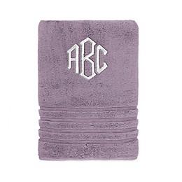 Wamsutta Personalized Trio Cotton Bath Towel Collection