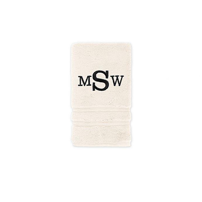 Alternate image 1 for Wamsutta Personalized Trio Cotton Hand Towel