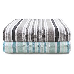 Canadian Living Striped Bath Towel Collection