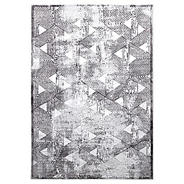 Home Dynamix Kenmare by Nicole Miller Triangles Area Rug