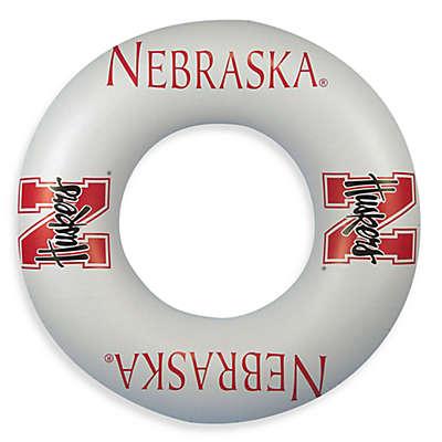 University of Nebraska Inflatable Inner Tube/Swim Ring