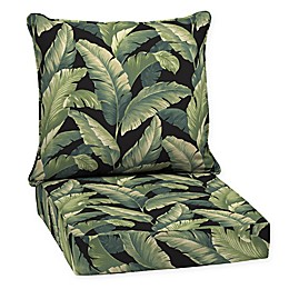 Arden Selections™  2-Piece Outdoor Deep Seat Pillow Cushion Set