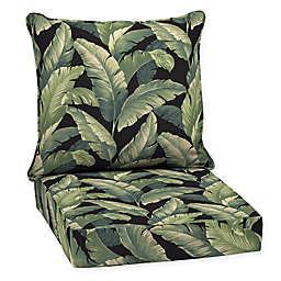 Arden Selections™  2-Piece Outdoor Deep Seat Pillow Cushion Set