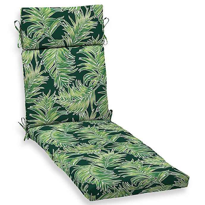 Alternate image 1 for Arden Selections™ Print Outdoor Chaise Lounge Cushion in