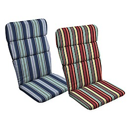 Arden Selections™ Striped Outdoor Adirondack Chair Cushion