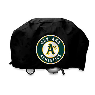 MLB Oakland Athletics Deluxe Barbecue Grill Cover