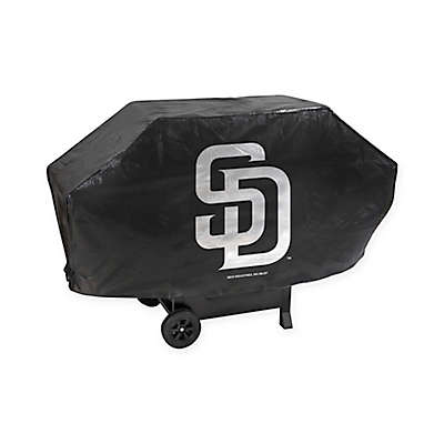 MLB San Diego Padres Deluxe Barbecue Grill Cover