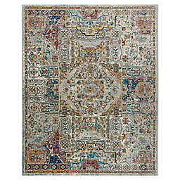 "Parlin by Nicole Miller Kaleidoscope 9'2"" x 12'5"" Area Rug in Ivory/Multi"