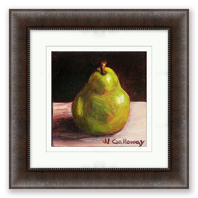 Alternate image 1 for Pear 16.5-Inch Framed Print Wall Art