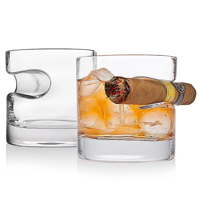 Alternate image 1 for Godinger® Cigar Glasses (Set of 2)