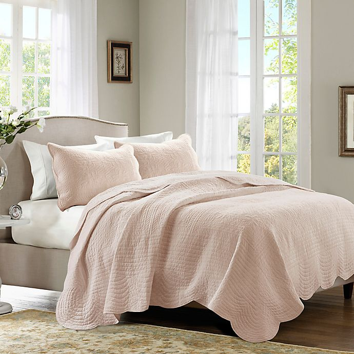 Alternate image 1 for Madison Park Tuscany 3-Piece Coverlet Set