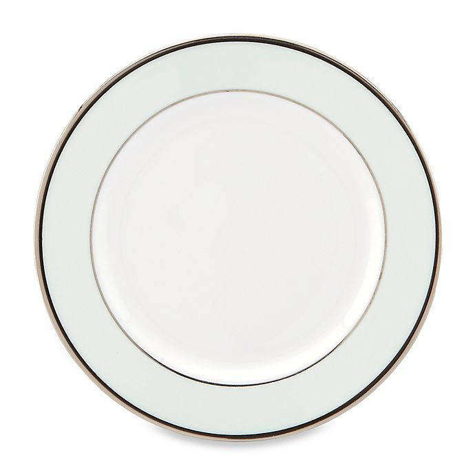 Alternate image 1 for kate spade new york Parker Place™ Butter Plate in White