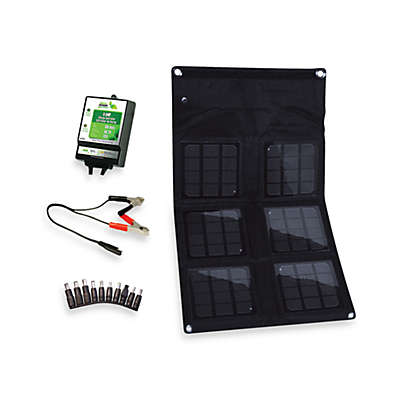 Nature Power 18-Watt Folding Solar Panel with 8-Amp Solar Charge Controller