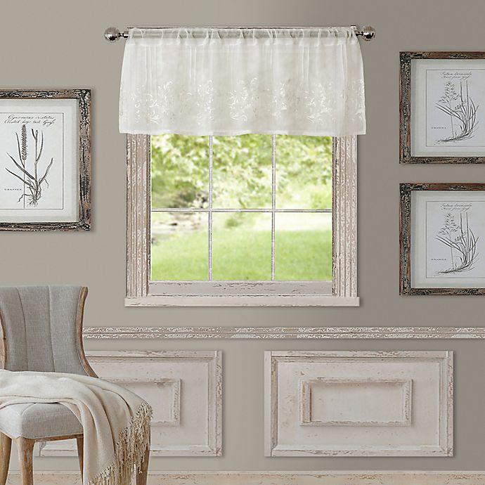 Alternate image 1 for Addison Window Valance in White