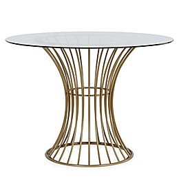 CosmoLiving by Cosmopolitan Westwood Glass Top Dining Table