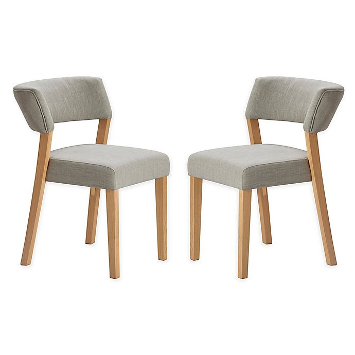 Super Tommy Hilfiger Upholstered Waltham Dining Chairs In Grey Short Links Chair Design For Home Short Linksinfo