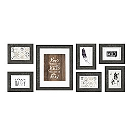 7-Piece Wall Solutions Picture Frame Set