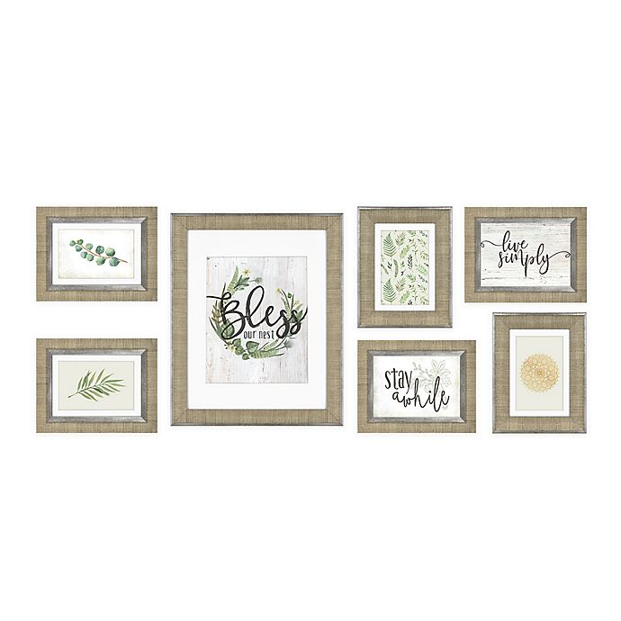 Alternate image 1 for 7-Piece Wall Solutions Picture Frame Set