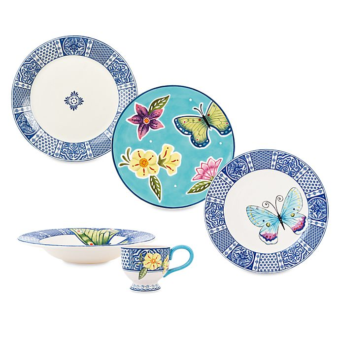 Alternate image 1 for Fitz and Floyd® Courtyard Dinnerware Collection