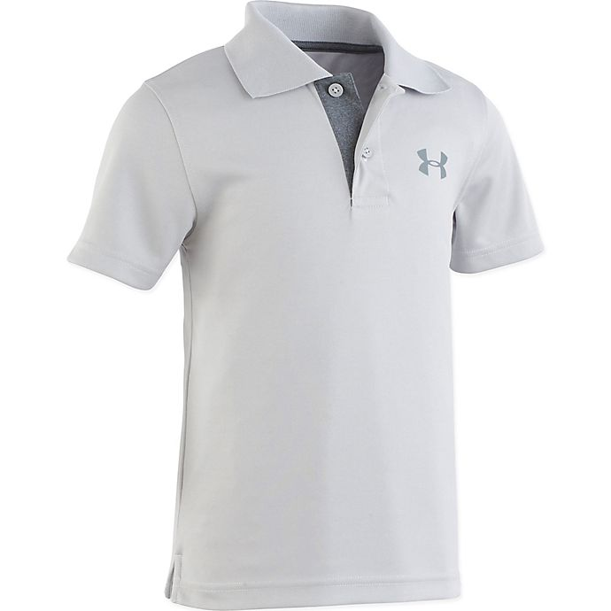 Alternate image 1 for Under Armour® Match Play Polo Shirt in Grey