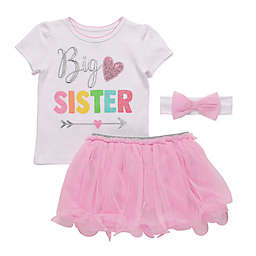 Start-Up Kids 3-Piece Let's Celebrate Toddler Top, Tutu, and Headband Set