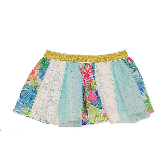Alternate image 1 for Baby Starters® Paneled Tutu in Aqua