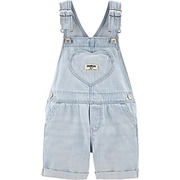 OshKosh B'gosh® Heart Pocket Shortall in Denim