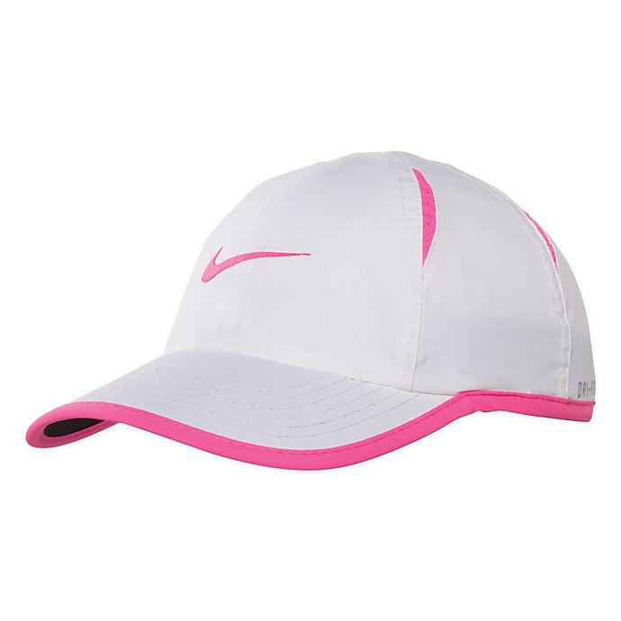 Alternate image 1 for Nike® Dry Featherlight Cap in White
