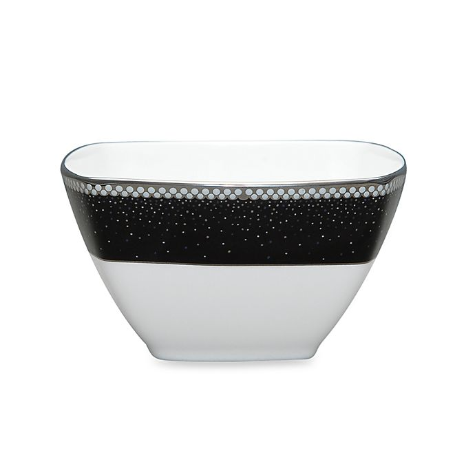 Alternate image 1 for Noritake® Pearl Noir Small Square Bowl