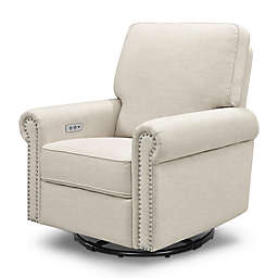 Million Dollar Baby Classic Linden Power Rocker Recliner Swivel Glider