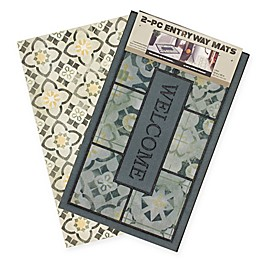 Mohawk Home 2-Piece Marble Mat Set