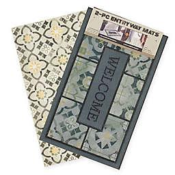 Mohawk Home 2-Piece Marble Mat Set