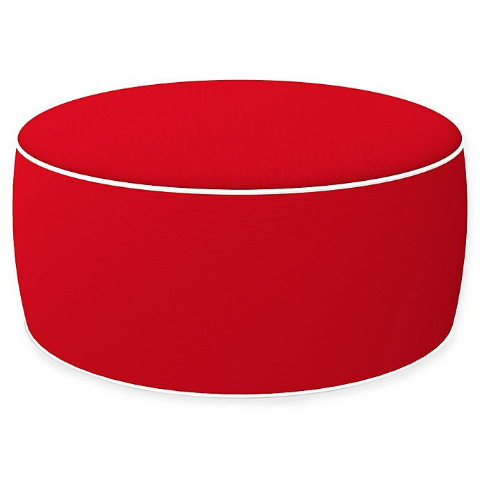 Pleasing Inflatable Outdoor Ottoman With Removable Cover Bed Bath Dailytribune Chair Design For Home Dailytribuneorg