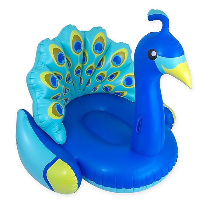 Alternate image 1 for Swimline Giant Peacock Lounger Pool Float