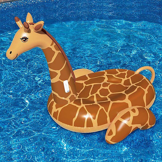 Alternate image 1 for Swimline Giant Giraffe Pool Float