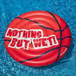 Swimline Basketball Pool Float in Orange