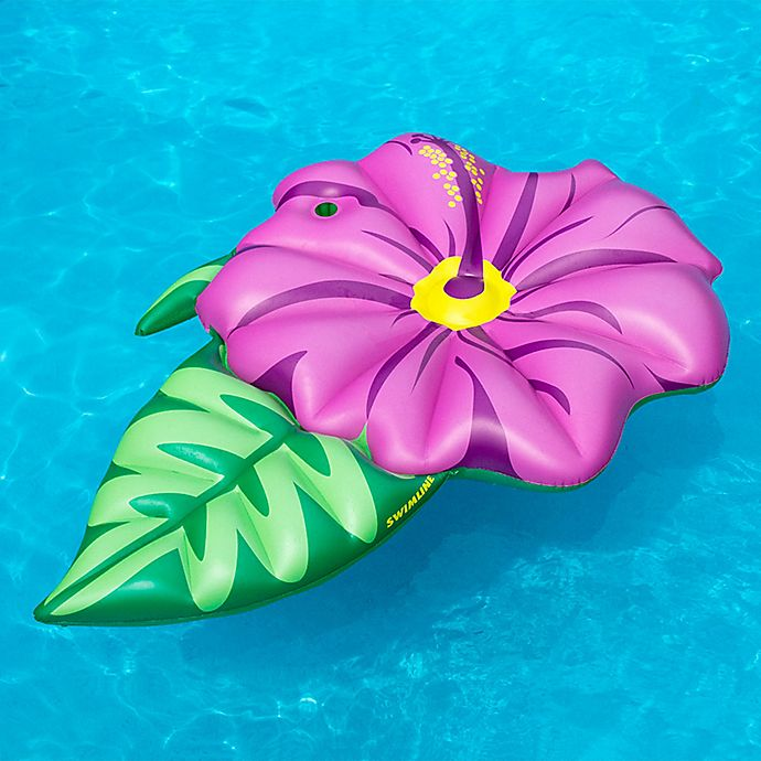 Alternate image 1 for Swimline Hibiscus Pool Float in Pink