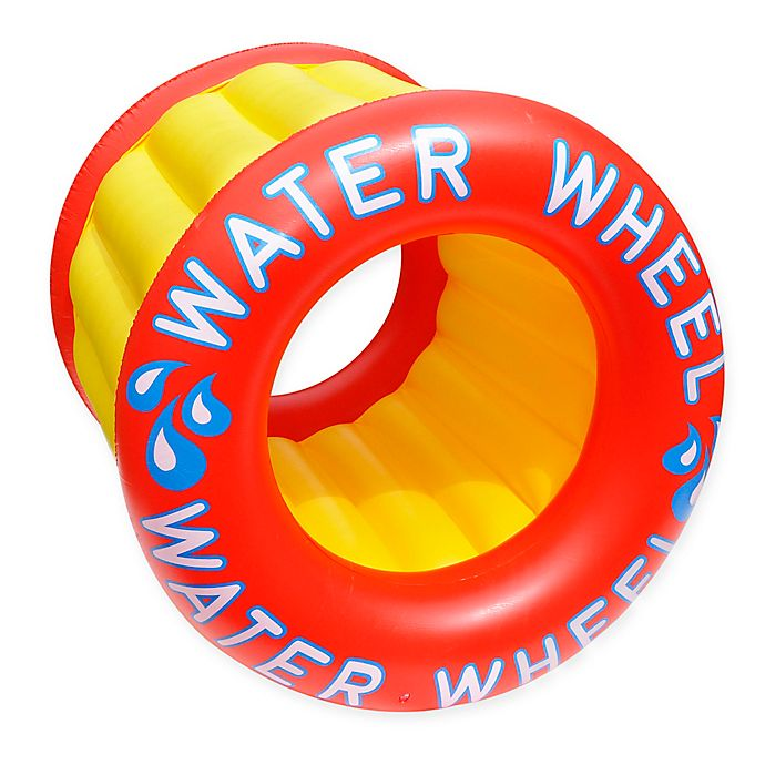Alternate image 1 for Swimline Water Wheel Pool Toy in Red