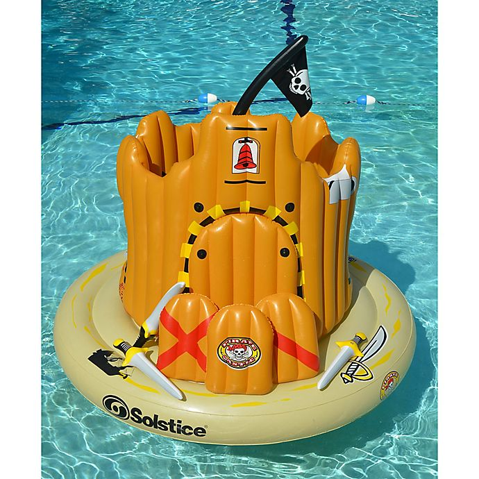 Alternate image 1 for Swimline Pirate Island Pool Float