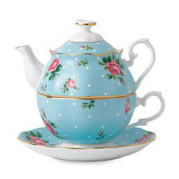 Royal Albert Polka Blue Tea for 1